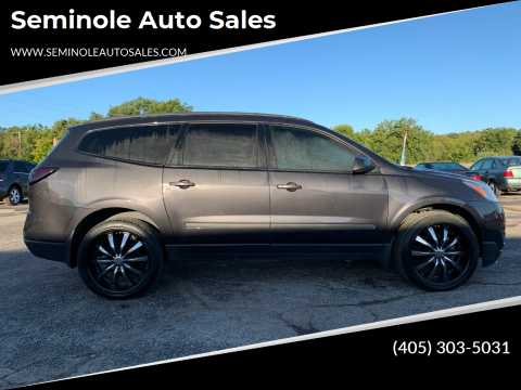 2015 Chevrolet Traverse for sale at Seminole Auto Sales in Seminole OK