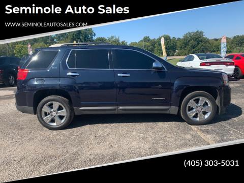 2015 GMC Terrain for sale at Seminole Auto Sales in Seminole OK