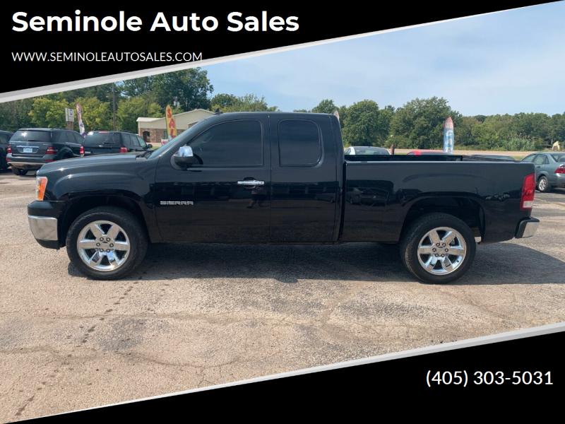 2013 GMC Sierra 1500 for sale at Seminole Auto Sales in Seminole OK