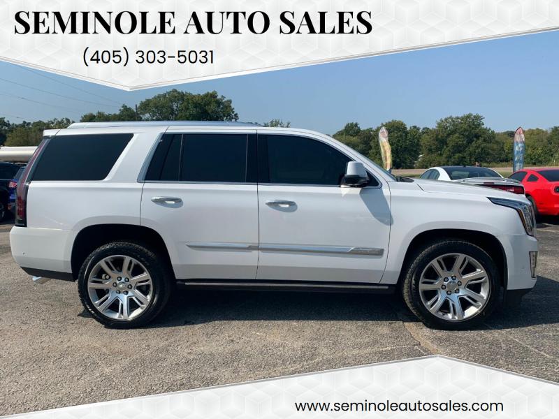 2020 Cadillac Escalade for sale at Seminole Auto Sales in Seminole OK