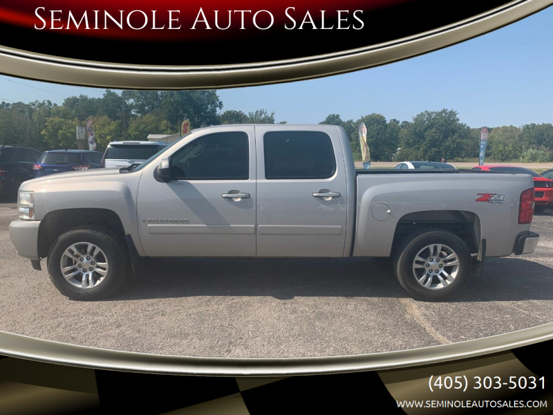 2008 Chevrolet Silverado 1500 for sale at Seminole Auto Sales in Seminole OK
