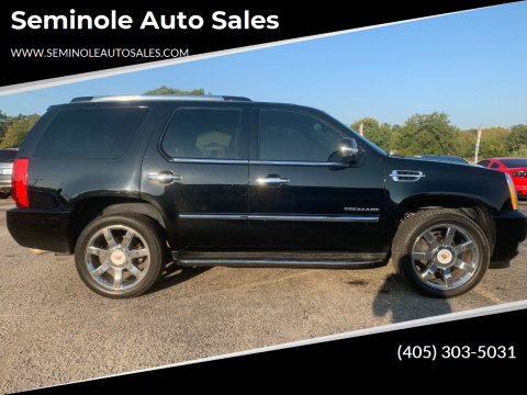 2013 Cadillac Escalade for sale at Seminole Auto Sales in Seminole OK