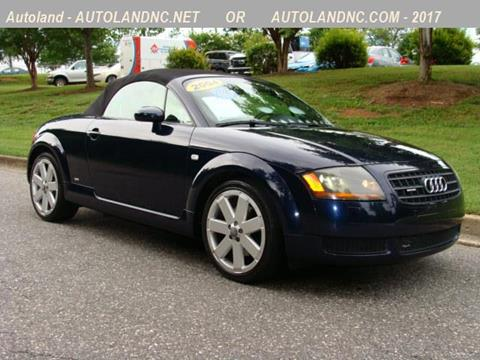 Audi tt for sale in north carolina for Elk mountain motors glenwood audi