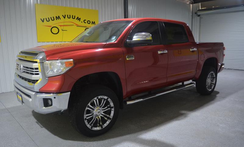 2014 Toyota Tundra For Sale At Vuum Vuum Auto Sales In Houston TX