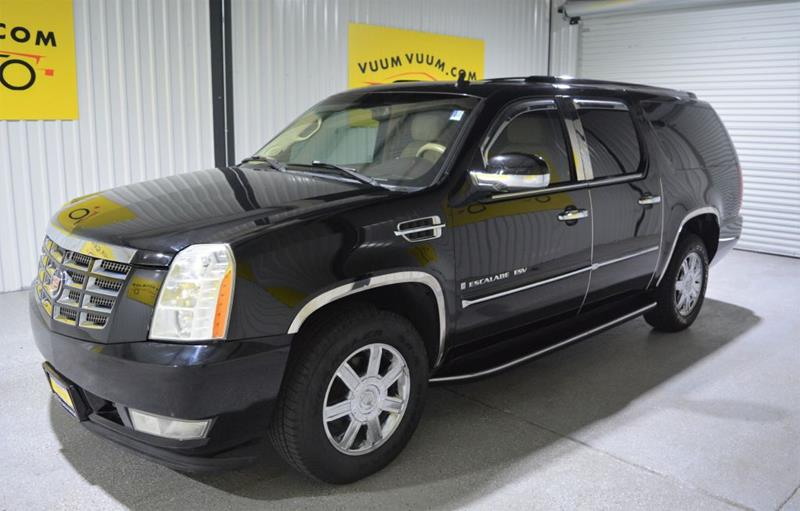 2007 Cadillac Escalade Esv In Houston Tx Vuum Vuum Auto Sales