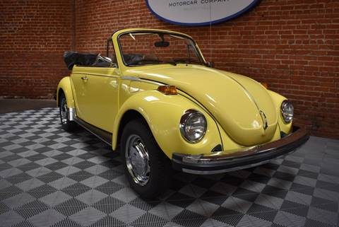 1979 Volkswagen Beetle Convertible for sale in West Hollywood, CA