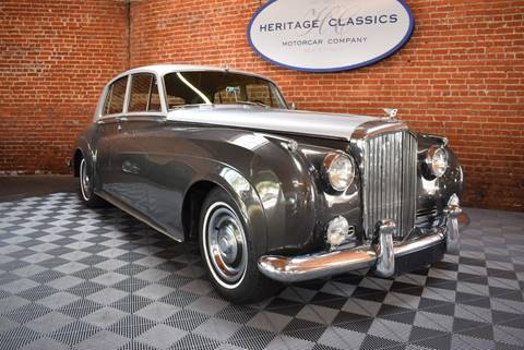 1961 Bentley S2 for sale at Heritage Classics in West Hollywood CA