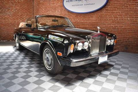 1991 Rolls-Royce Corniche for sale at Heritage Classics in West Hollywood CA