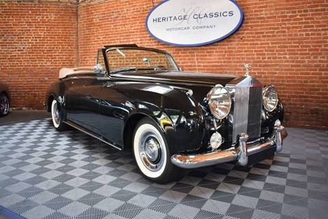1962 Rolls-Royce Silver Cloud 2 for sale in West Hollywood, CA