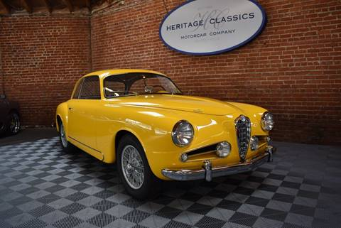 1954 Alfa Romeo 1900 CSS for sale at Heritage Classics in West Hollywood CA