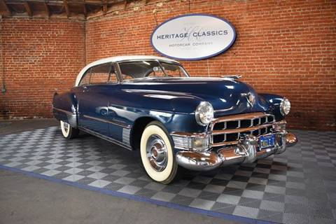 1949 Cadillac DeVille for sale at Heritage Classics in West Hollywood CA