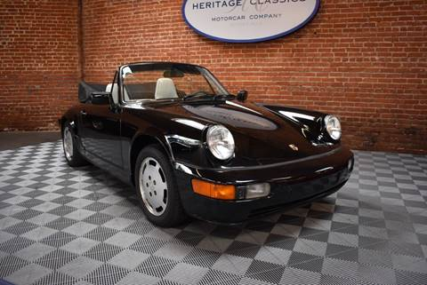 1991 Porsche 911 Carrera 4 for sale at Heritage Classics in West Hollywood CA