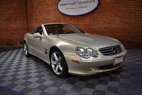 Mercedes Benz Beverly Hills >> 2003 Mercedes Benz Sl Class For Sale In West Hollywood Ca