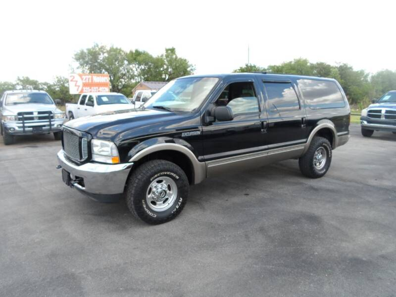 2003 Ford Excursion for sale at 277 Motors in Hawley TX