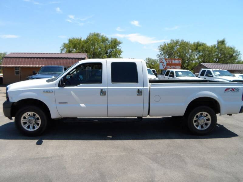 2007 Ford F-250 Super Duty for sale at 277 Motors in Hawley TX