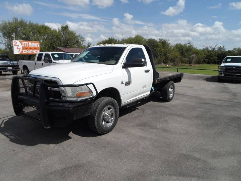 2011 RAM Ram Chassis 3500 for sale at 277 Motors in Hawley TX