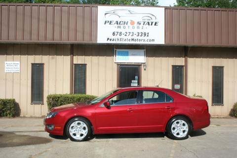 2010 Ford Fusion for sale in Woodstock, GA