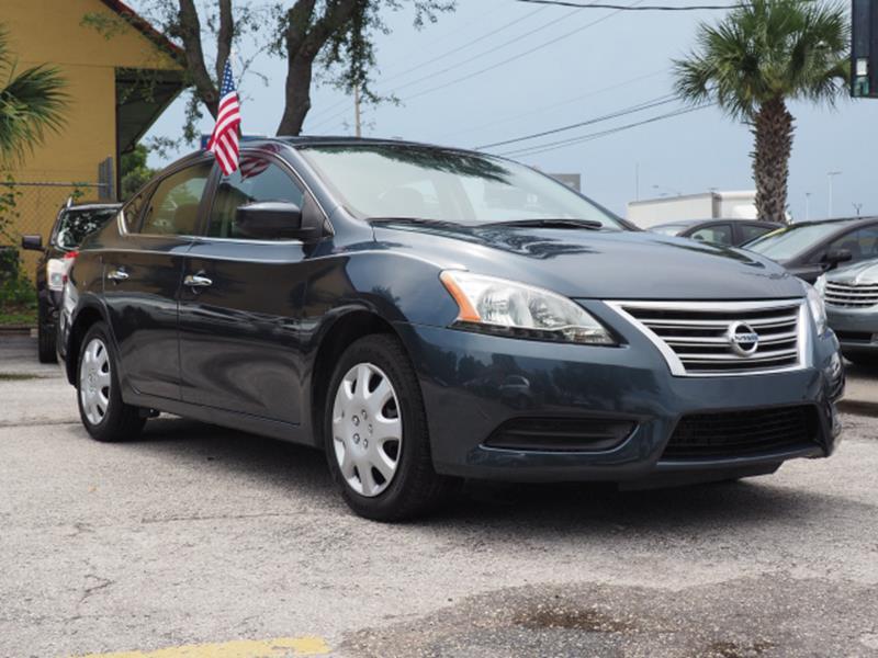 2013 Nissan Sentra For Sale At Winter Park Auto Mall In Orlando FL