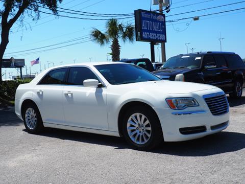 Used Chrysler 300 >> 2013 Chrysler 300 For Sale In Orlando Fl