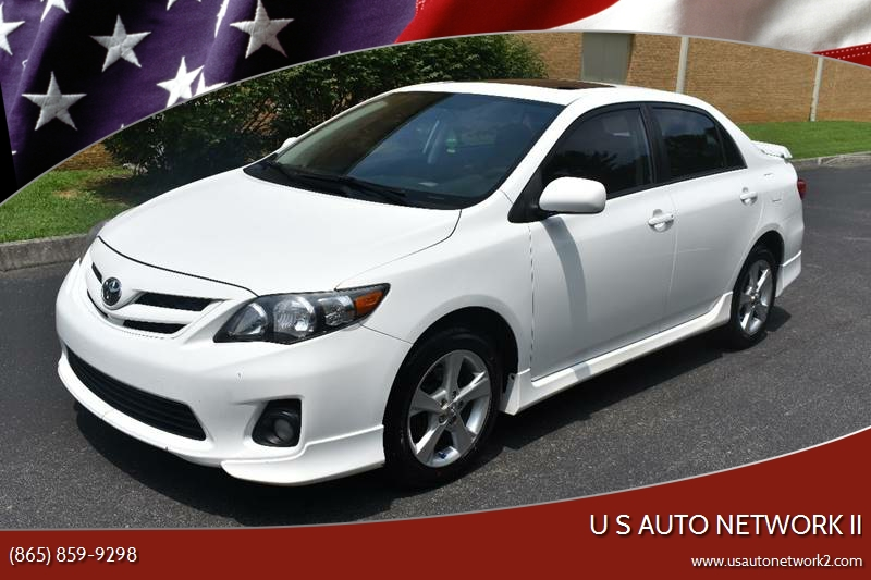 2011 Toyota Corolla For Sale At U S Auto Network II In Knoxville TN