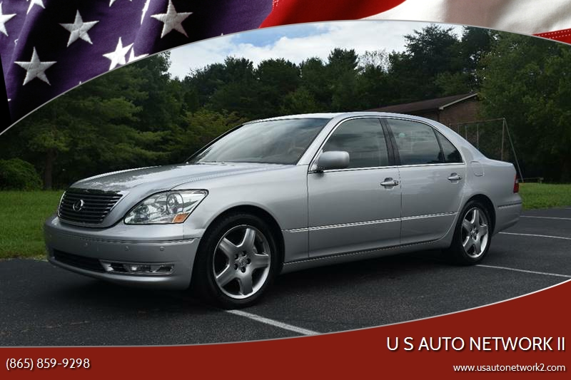 2005 Lexus LS 430 For Sale At U S Auto Network II In Knoxville TN