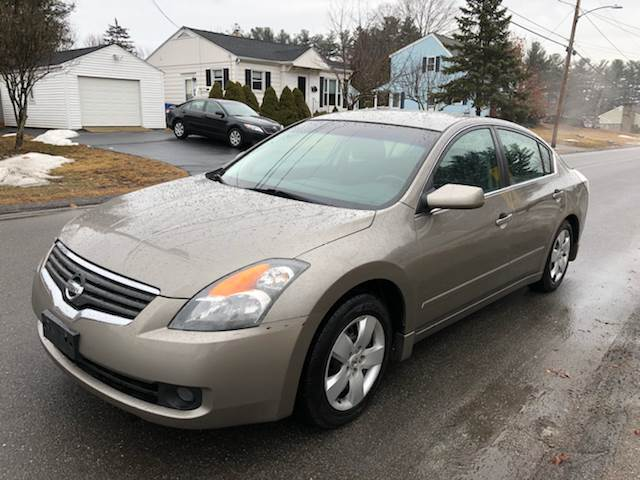 2007 Nissan Altima For Sale At BEATO AUTO SALES INC In Londonderry NH