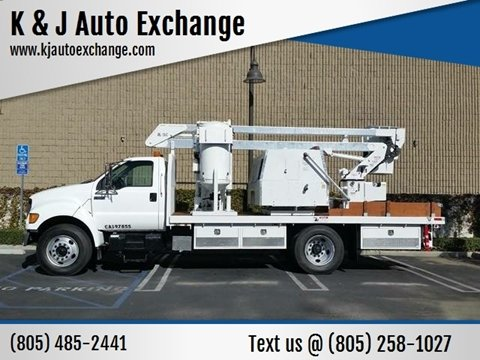 2001 Ford F-650 Super Duty for sale at K & J Auto Exchange in Santa Paula CA