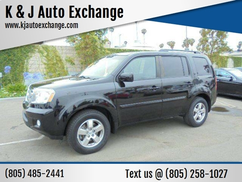 2011 Honda Pilot for sale at K & J Auto Exchange in Santa Paula CA
