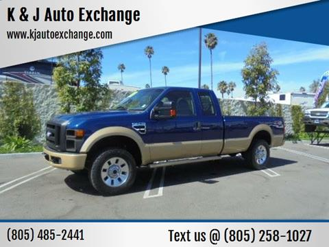 2009 Ford F-250 Super Duty for sale at K & J Auto Exchange in Santa Paula CA