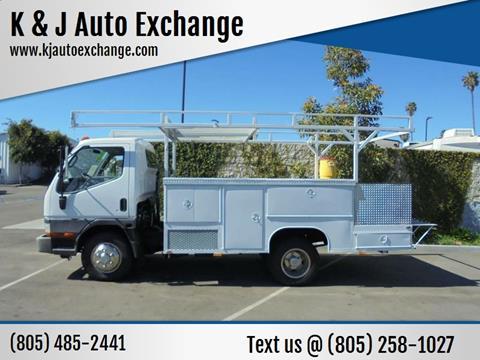 2001 Mitsubishi FE649 for sale at K & J Auto Exchange in Santa Paula CA