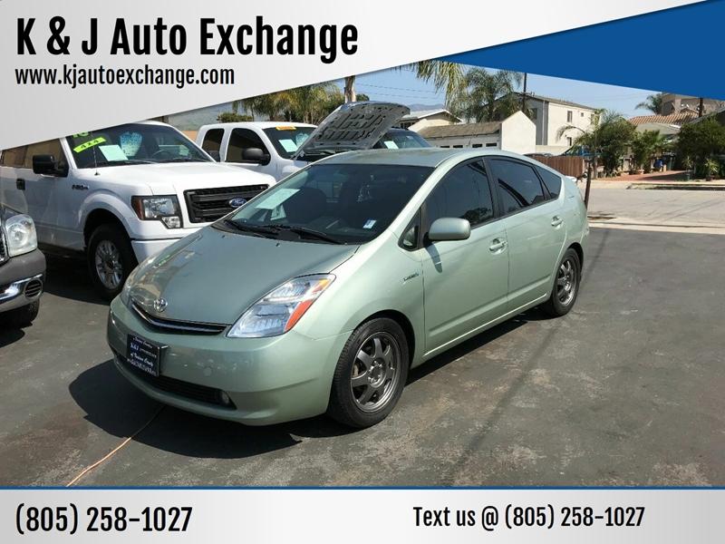 2008 Toyota Prius for sale at K & J Auto Exchange in Santa Paula CA