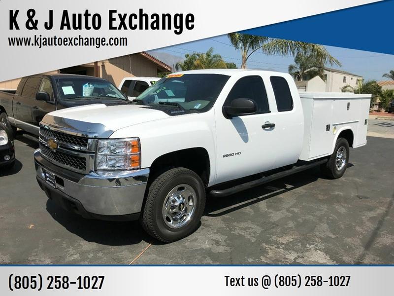 2012 Chevrolet Silverado 2500HD for sale at K & J Auto Exchange in Santa Paula CA