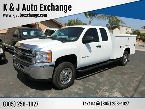 2012 Chevrolet Silverado 2500HD for sale at K & J Auto Exchange in Santa Paula CA
