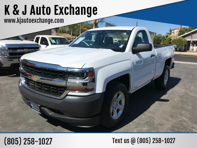 2017 Chevrolet Silverado 1500 for sale at K & J Auto Exchange in Santa Paula CA