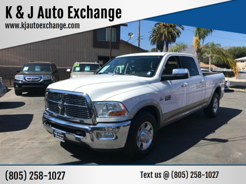 2011 RAM Ram Pickup 2500 for sale at K & J Auto Exchange in Santa Paula CA