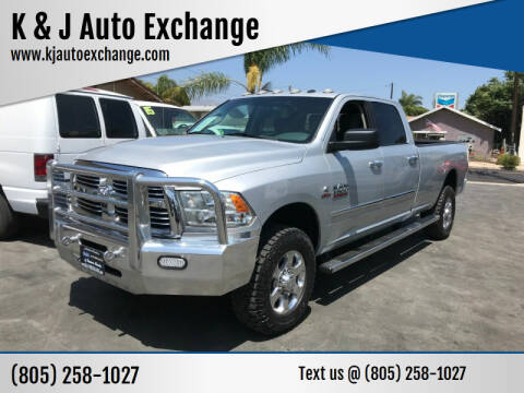 2018 RAM Ram Pickup 2500 for sale at K & J Auto Exchange in Santa Paula CA