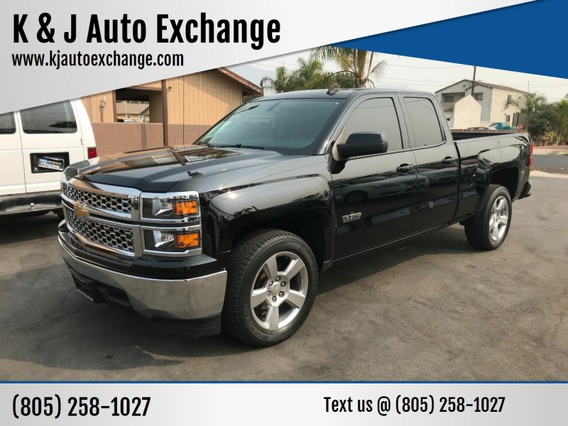 2014 Chevrolet Silverado 1500 for sale at K & J Auto Exchange in Santa Paula CA