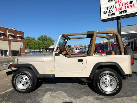 1995 Jeep Wrangler for sale at All American Autos in Kingsport TN