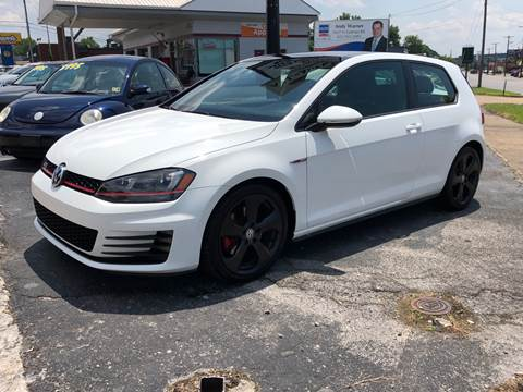 2015 Volkswagen Golf GTI for sale at All American Autos in Kingsport TN