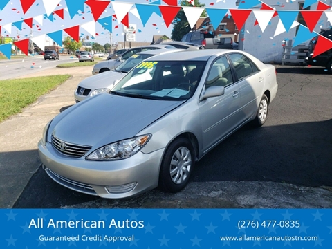 Toyota Camry For Sale in Kingsport, TN - All American Autos