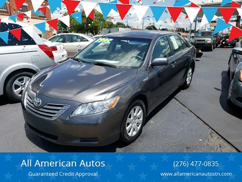2007 Toyota Camry Hybrid for sale at All American Autos in Kingsport TN