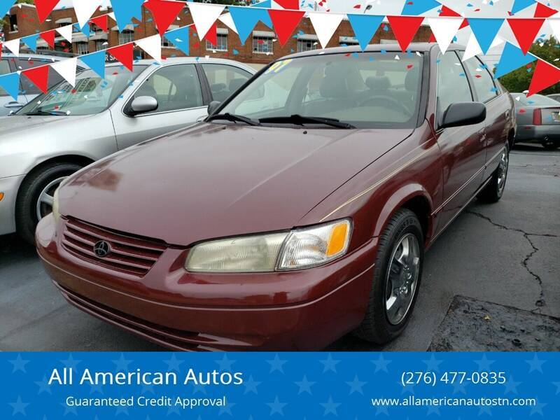 1997 Toyota Camry for sale at All American Autos in Kingsport TN