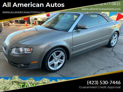 2007 Audi A4 for sale at All American Autos in Kingsport TN