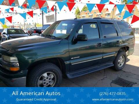 2003 Chevrolet Tahoe for sale at All American Autos in Kingsport TN