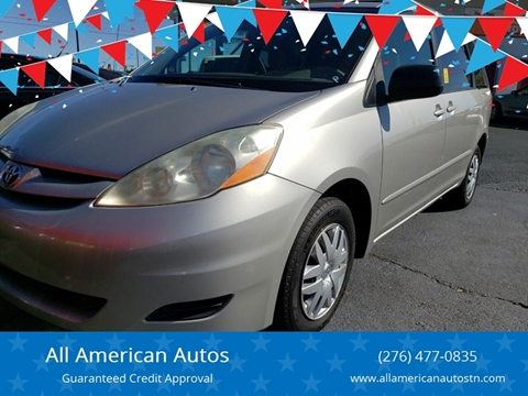 2006 Toyota Sienna for sale at All American Autos in Kingsport TN