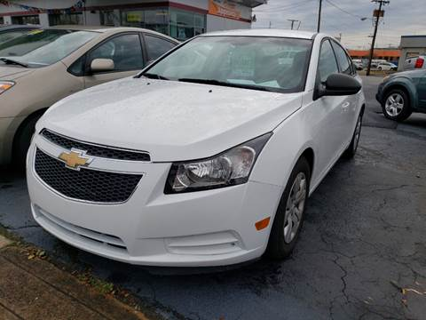 2014 Chevrolet Cruze for sale at All American Autos in Kingsport TN