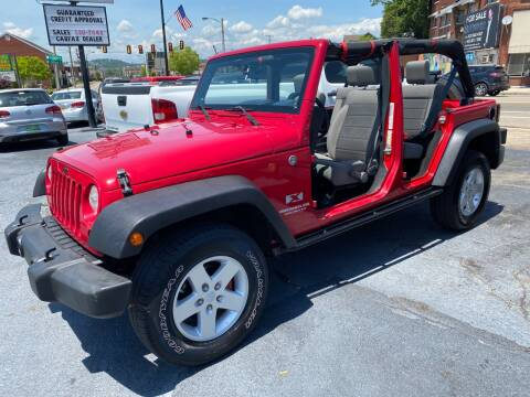 2008 Jeep Wrangler Unlimited for sale at All American Autos in Kingsport TN