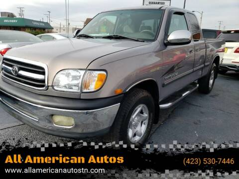 2001 Toyota Tundra for sale at All American Autos in Kingsport TN