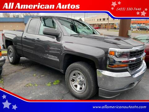 2016 Chevrolet Silverado 1500 for sale at All American Autos in Kingsport TN