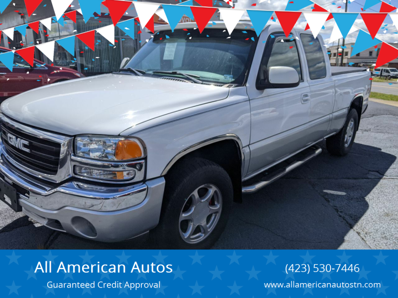 2005 GMC Sierra 1500 for sale at All American Autos in Kingsport TN